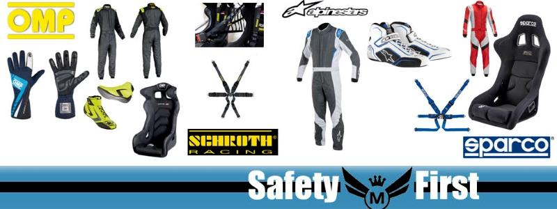 karting safety gear