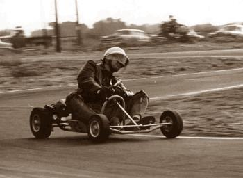 an old karting race