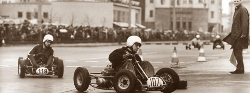 karting race back in the early years